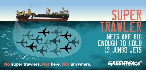 Greenpeace Super Trawler campaign