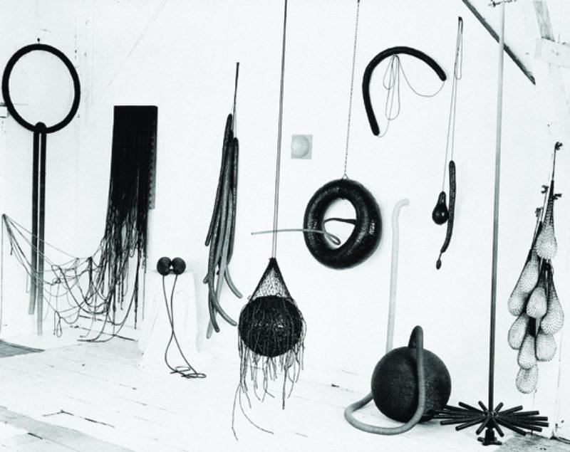 Eva Hesse studio